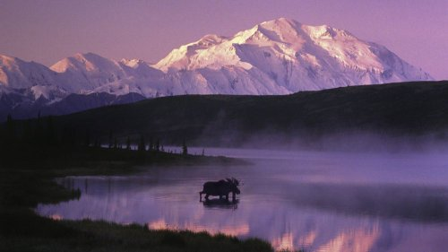 park national preserve alaska wallpaper scenic denali lake u